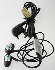 Auriculares SONY ERICSSON MH907, 1225-9660.1, Negros, Conector Antiguo Fast Port