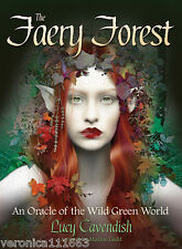 Faery Forest Oracle NEW Sealed 45 Color Cards Guide book Lucy Cavendish M. Gadd