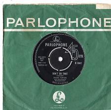 """Shane Fenton - Don't Do That 7"""" Single 1963"""