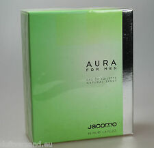 Jacomo aura for men 40 ml Eau de Toilette Spray Nuovo/PELLICOLA