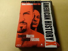 LIMITED EDITION METAL CASE DVD / AMERICAN HISTORY X ( EDWARD NORTON... )