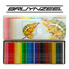 Bruynzeel - 45 Colouring Pencils in Chameleon Design Metal Tin