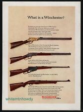 1962 WINCHESTER Henry Repeater, Model 1873, 1895 & 100 Rifle AD