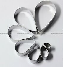 7pcs Rose Petal Stainless Steel Cutter Mold Cake Decorating Mould Sugarcrft SM5