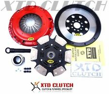 XTD STAGE 3 CERAMIC CLUTCH &9LBS FLYWHEEL KIT VW TDI 1.9T G60 CORRADO JETTA GOLF