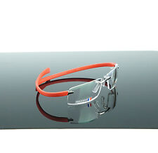NEW Authentic TAGHeuer Reflex Curver Red Titanium Eyeglasses TH 5201 003 07871