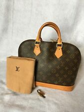 Authentic LOUIS VUITTON Monogram Alma PM Satchel Handbag