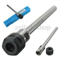 C8-ER11A-100L Collet Straight Shank Chuck Holder CNC Milling Extension Lathe Rod
