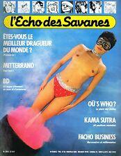 L'ÉCHO DES SAVANES n° 33 - 1985