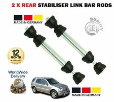 FOR MERCEDES ML230 ML270 ML320 ML350 400 ML430 ML500 2x REAR STABILISER LINK BAR