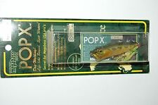 old megabass pop x popx made in japan bass topwater popper 1/4oz  yuki ito