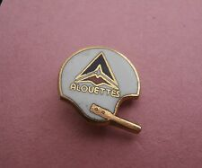 Montreal Alouettes CFL Football Helmet Tiny Pin