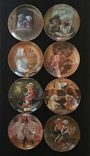 Collectors Plates Complete Set of 8 Plates by Sandra Kuck 1983 Reco