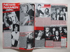 Kim WIlde Scorpions Queen Nena Jennifer Beals Collins clippings Germany 1980s