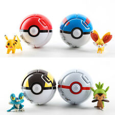 Bounce Pokemon Throw Pokeball Cosplay Pop-up Elf Go Fighting Poke Ball Toy New