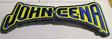 JOHN CENA COLLECTABLE RARE VINTAGE PATCH EMBROIDED 2007 WWE WWF