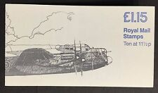 FI1a 1981 Spitfire Lancaster Military Aircraft Folded Booklet - good perfs