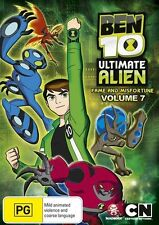 Ben 10 - Ultimate Alien : Vol 7 (DVD, 2012) Collectible Sticker Inside  Region 4
