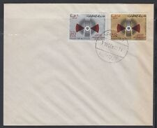 Kuwait 1971 FDC Mi.521/22 toning Weltfernmeldetag Communication-Day [cm164]
