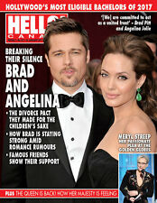 Hello Canada Magazine Exclusive Brad and Angelina Jan.2017 #537 Brand New