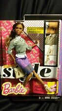 Barbie Style Glam Fashion Doll- Nikki -African American-Flats to Heels
