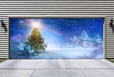 Christmas Tree Garage Door Covers Banners Outside House Art Decor Billboard GD36