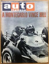 Auto Italiana - 1965 n° 23 - Lola 70 - pubblicità - meccanica corse