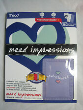$~Mead Impressions 26 Cards and Envelopes w/software~Your Invited~New~LBDEE