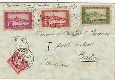 Lettre Algerie 1938 CaD Alger pour Batna + Taxe Cover Brief