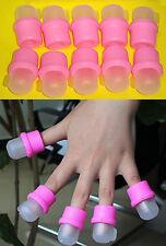 10 Kapseln Fingern Für Entfernen Nägel Acryl/Porzellan Remojadores Acryl Nagel