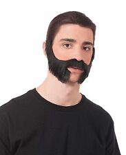 Chinless Beard Sideburns Side Burns Goatee Facial Hair Adult Costume Accessory