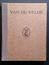 VAN DE VELDE 1920 Architecture Interior Design Furniture Metalware Applied Art