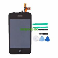 Black for iPhone 3GS Replacement Part Touch Screen Digitizer LCD Display + Tools
