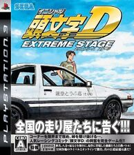 USED PS3 Initial D Extreme Stage SEGA GAMES PlayStation 3 JAPAN Ver