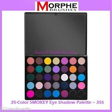 NEW Morphe Brushes 35-Color SMOKEY Eye Shadow Palette 35S FREE SHIPPING Smoky
