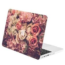 "Lavish Floral Rubberized Case for MacBook Pro 15"" w./ Retina Display Model A1398"