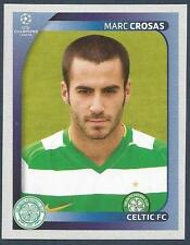 PANINI UEFA CHAMPIONS LEAGUE 2008-09- #205-CELTIC-CATALONIA-MARC CROSAS