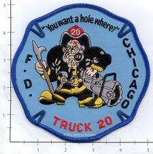 Illinois - Chicago Truck 20 IL Fire Dept Patch