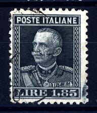 ITALIA - Regno - 1927 - Vittorio Emanuele III° - Parmeggiani - 1,85 Lire ardesia