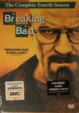 BREAKING BAD The COMPLETE FOURTH SEASON 13 Episodes +13+ Hours of Bonus Features
