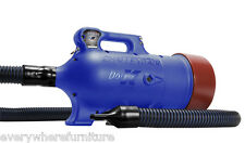 NEW Double K Challengair AirMax 2 Speed Animal Pet Dog Dryer Dual Motor Blue
