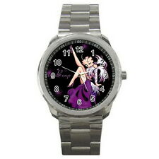 Betty Boop Sport Metal Watch Stainless Steel for men women Fashion Hot Gift NEW