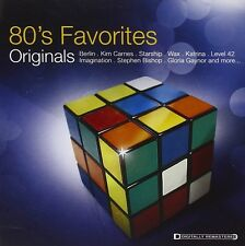 80'S FAVORITES ORIGINALS  CD NEU BOY GEORGE/LEVEL 42/WAX/STARSHIP/+