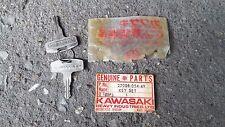 KAWASAKI KE125 KE175 #449 KEY SET 2pcs NOS GENUINE JAPAN P/N 27008-054-49