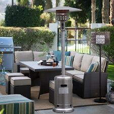 Garden Outdoor Patio Heater Propane Standing Stainless Steel w/accessories New