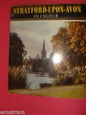 Stratford-Upon Avon in Colour c. 1960s  UK History/ Guide Book