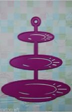 JOY CRAFTS DIE CUTTING EMBOSSING STENCIL - CAKE STAND 3 TIER 6002/0119