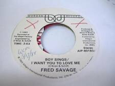 HEAR! Rare Modern Soul 45 FRED SAVAGE/MARY LOUISE Boy Sings/ I Want You To Love