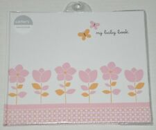 Carter's Baby Girl Memory Book (Floral, Giraffe, Nature Theme) *NEW*
