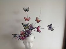 FASCINATION BESPOKE MILLINERY MADE TO ORDER HEADPIECE FASCINATOR HAT ANY COLOUR